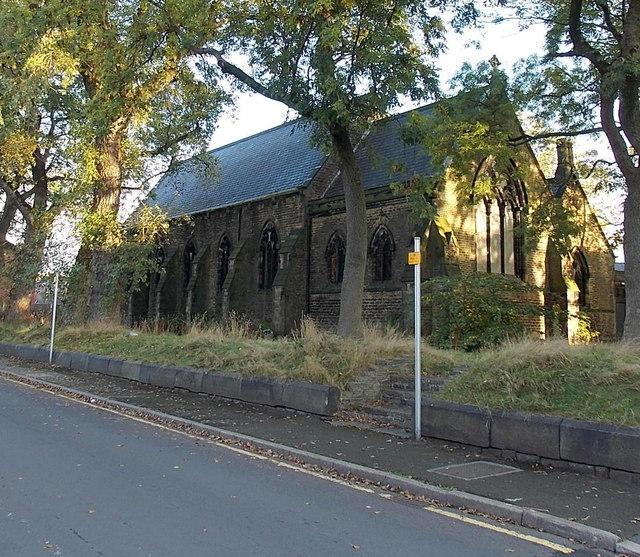 West side of Holy Trinity church, Bury