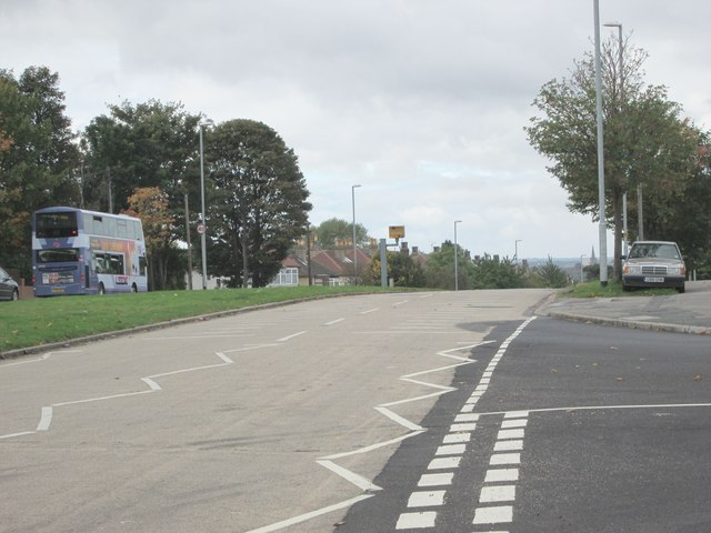 Easterly Road - viewed from Amberton Road