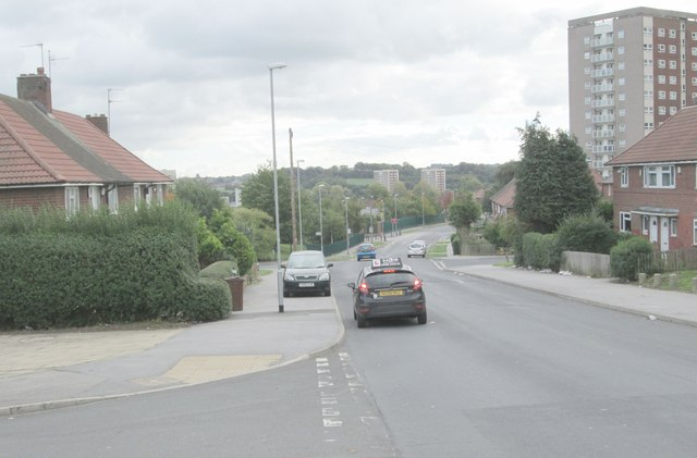 North Farm Road - viewed from Thorn Grove