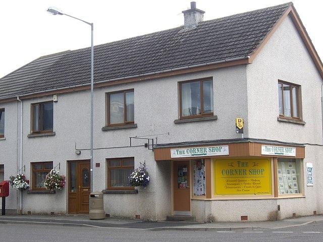 The Corner Shop, Rhynie