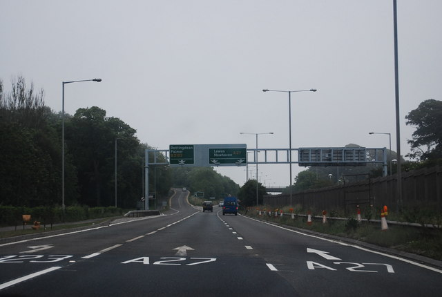 A27, Falmer turning