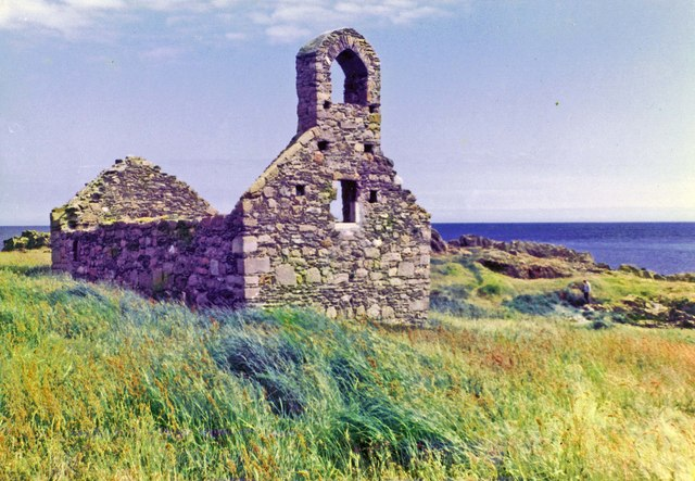 Isle of Man - St. Michael's Chapel, St.Michael's Isle
