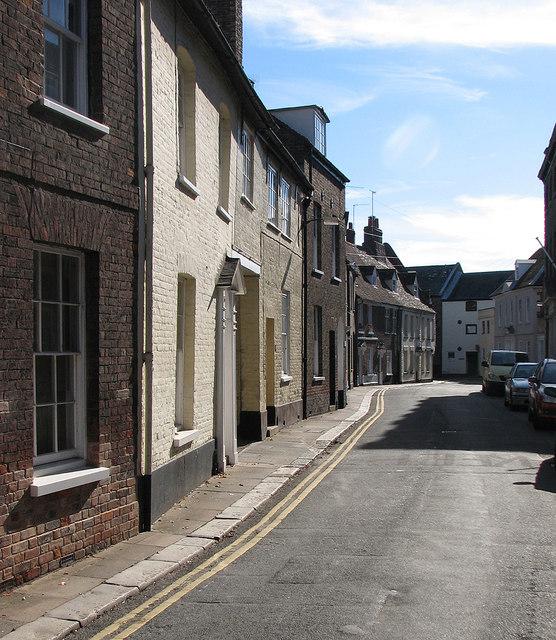 King's Lynn: Sunday morning in Nelson Street