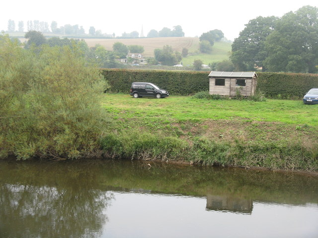 Angler's hut by the Wye