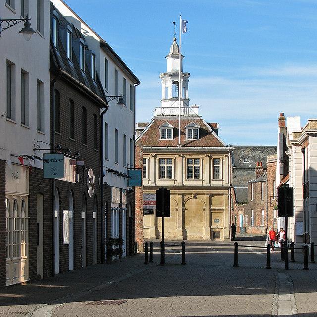 King's Lynn: Purfleet Street and the Custom House