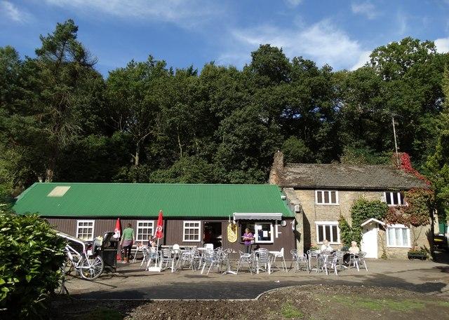 Forge Dam Cafe in October sunshine
