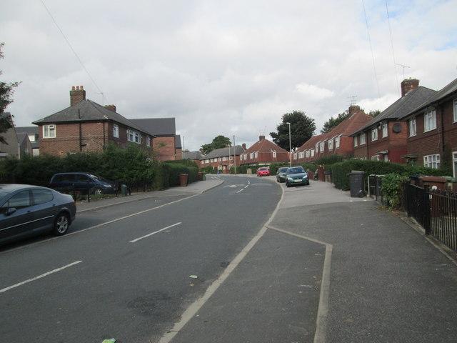 St Wilfrid's Avenue - St Wilfrid's Crescent