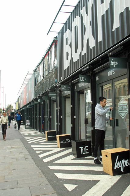 Locking up the lock-up at 'Boxpark'