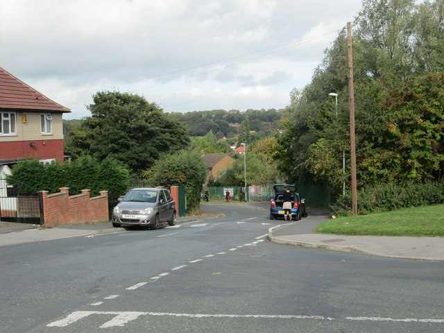 St Wilfrid's Drive - viewed from St Wilfrid's Avenue