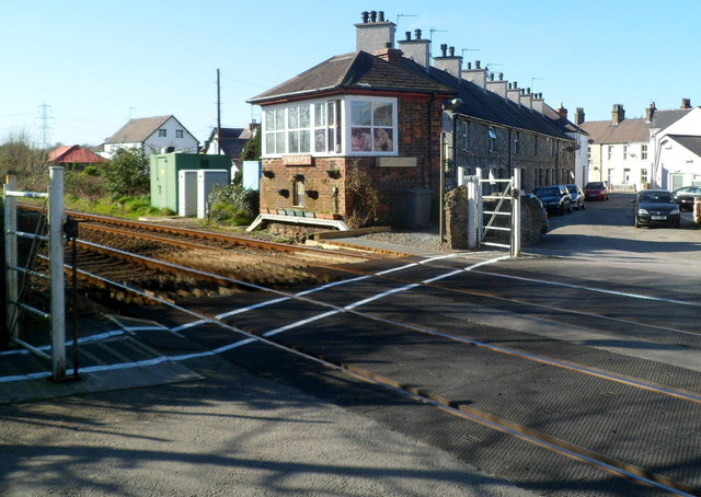 Level crossing signalbox, Llanfairpwll