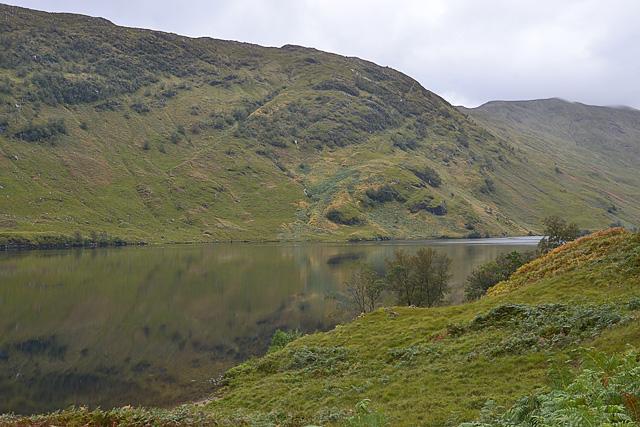 View across Loch Arkaig