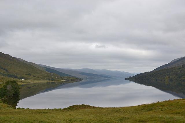 View east down Loch Arkaig