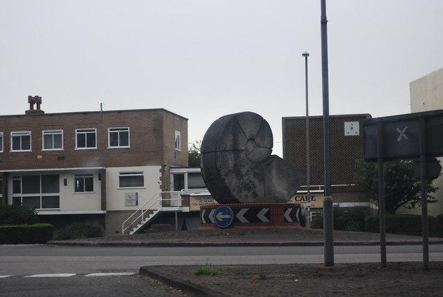 Ammonite Statue, A26