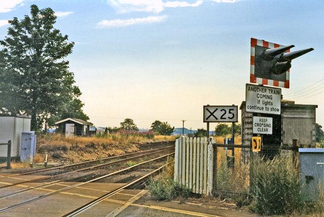 Site of Honington station, 1995