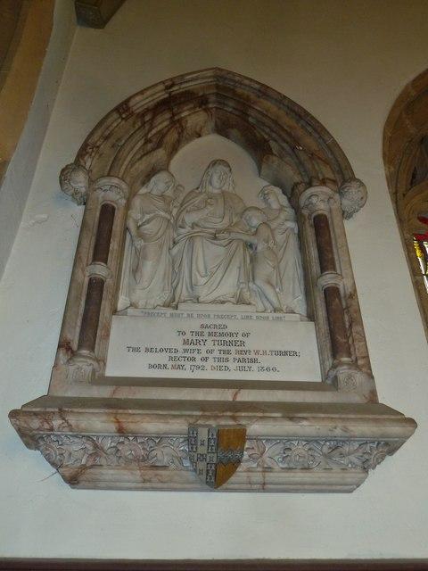St Andrew, Trent: memorial (11)