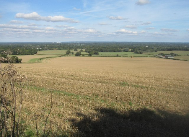 View from the Woodgarston footpath