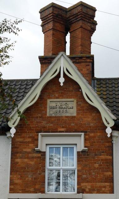 Datestone on North Lodge