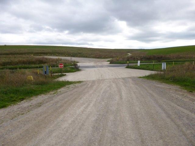 Shrewton, tank crossing