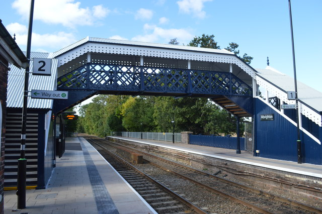 Albrighton Station Footbridge