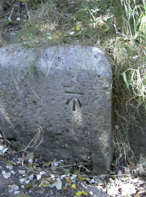 Benchmark before the fort