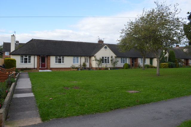 Houses on Cross Road