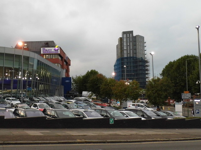 Businesses on The Hyde, Colindale