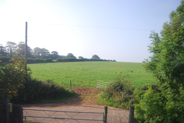 Farmland near Manorbier Newton