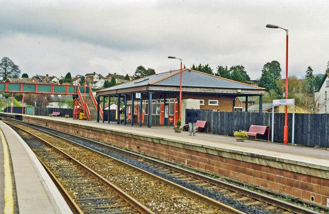 Honiton station, 1998