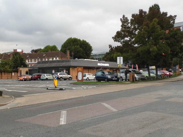 McDonald's on Colindeep Lane, Colindale