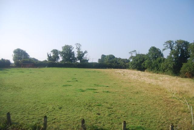Farmland near Mead Farm
