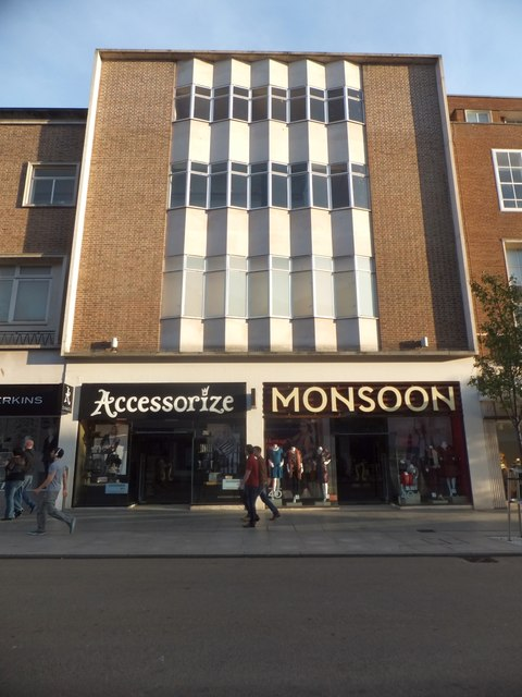 Two shops in Exeter High Street