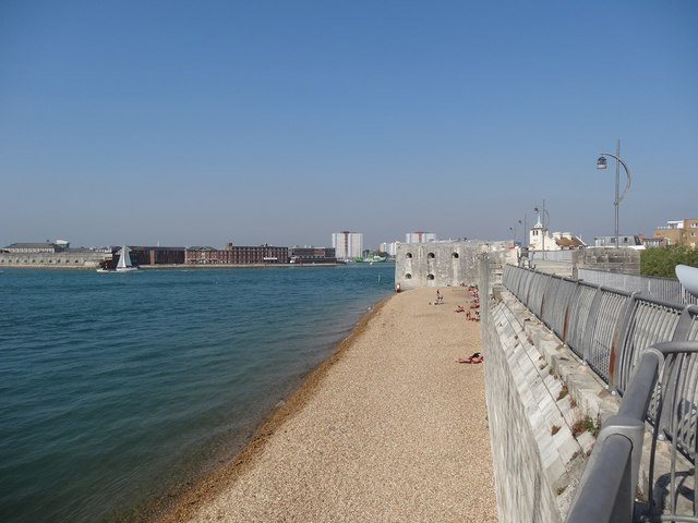 Beach by the Sally Port, Portsmouth