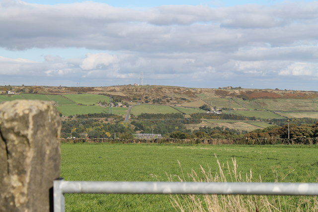 Stocksbridge from Heads Lane