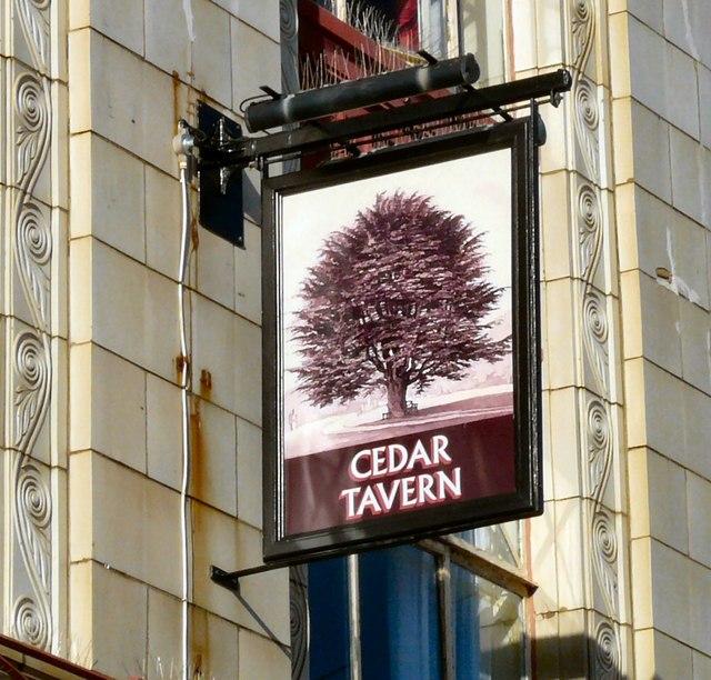 Sign of the Cedar Tavern