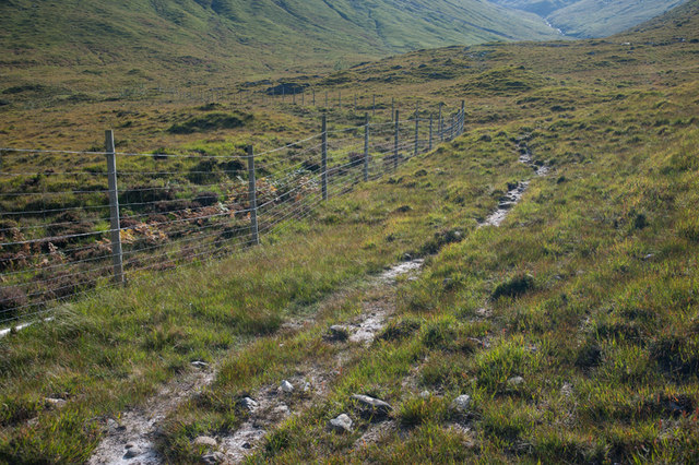 Footpath to the Bealach Lapain