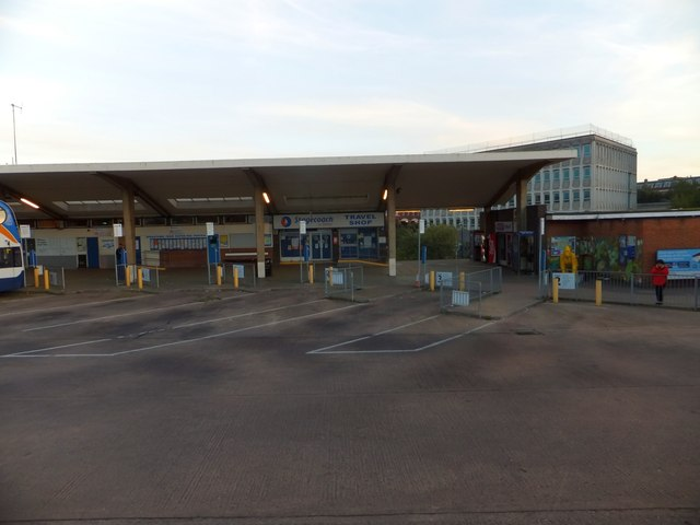 Exeter bus station and civic centre