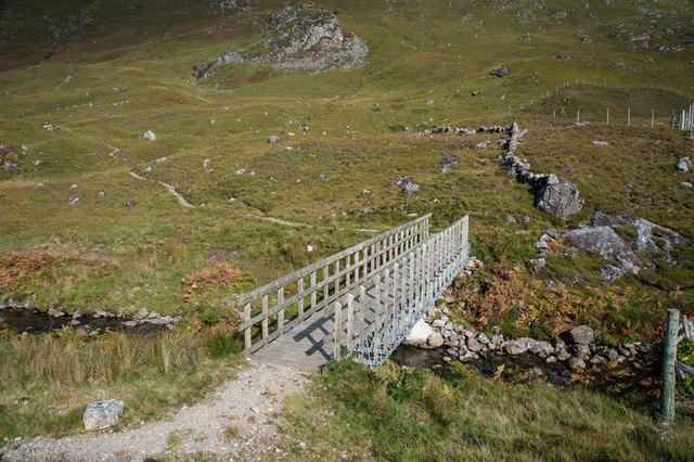 Bridge over the Allt an Lapain