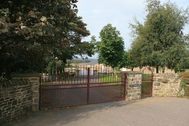Gates to Old Engine Farm