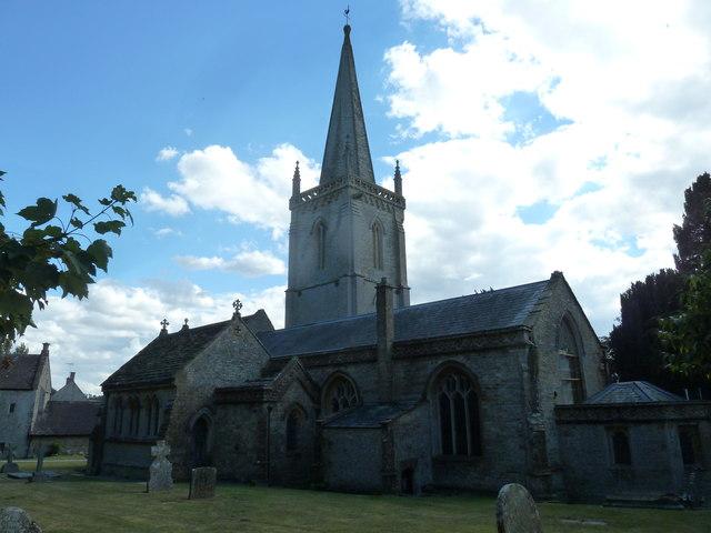 St Andrew, Trent: churchyard (iii)
