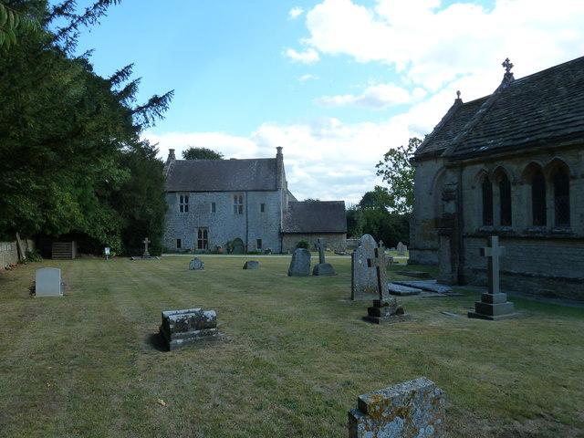 St Andrew, Trent: churchyard (iv)
