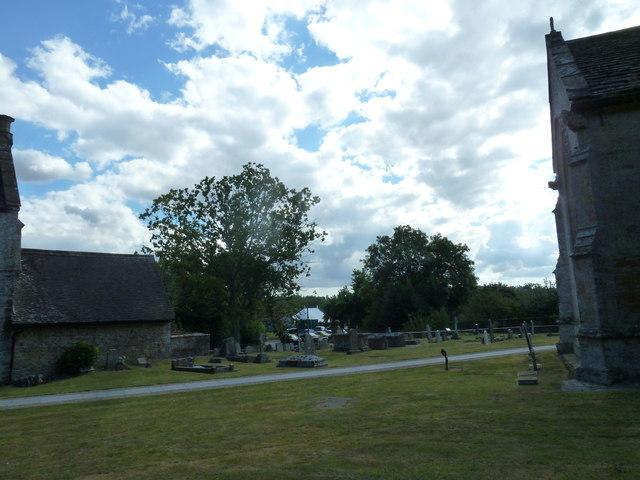 St Andrew, Trent: churchyard (xiii)