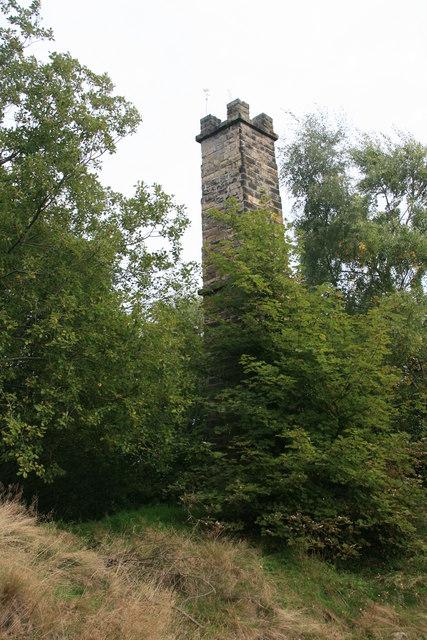 Former lead mine chimney