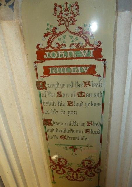 St Andrew, Trent: John VI vvLIII,LIV