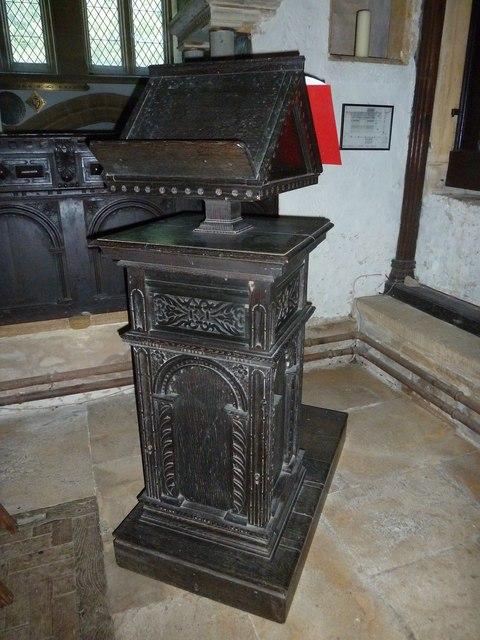 St Andrew, Trent: lectern