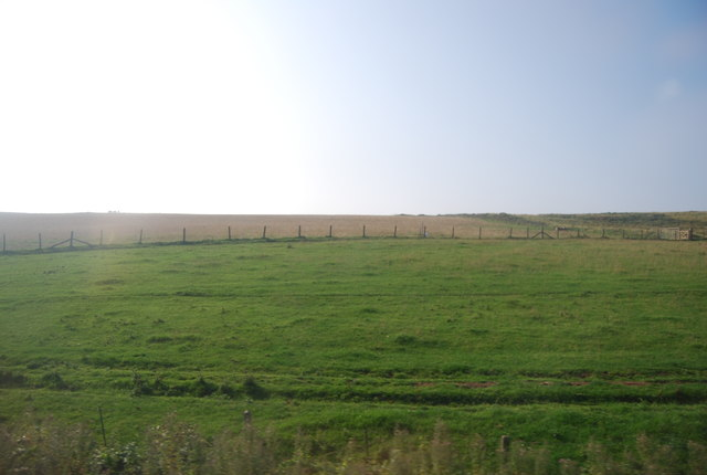 The edge of the Military Range