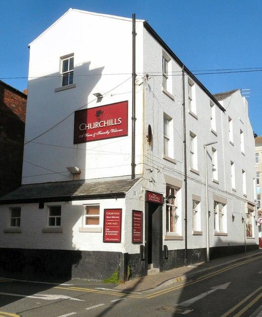 Churchill's Bar, Topping Street