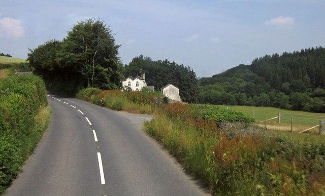 B3137 approaching Little Hele