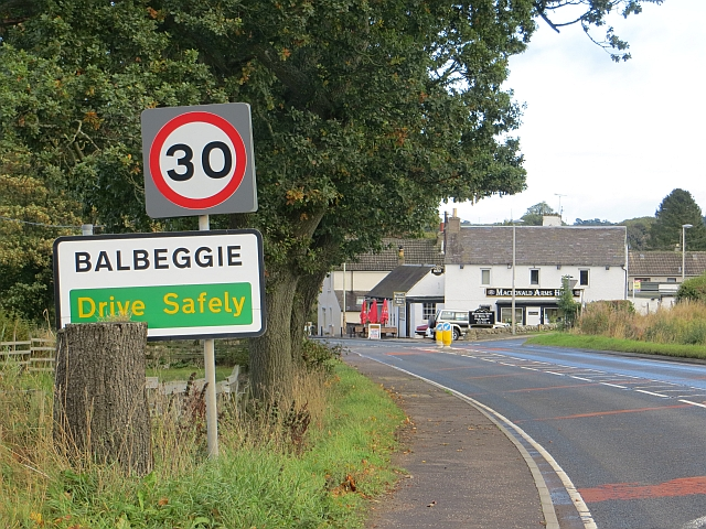 Balbeggie city limits