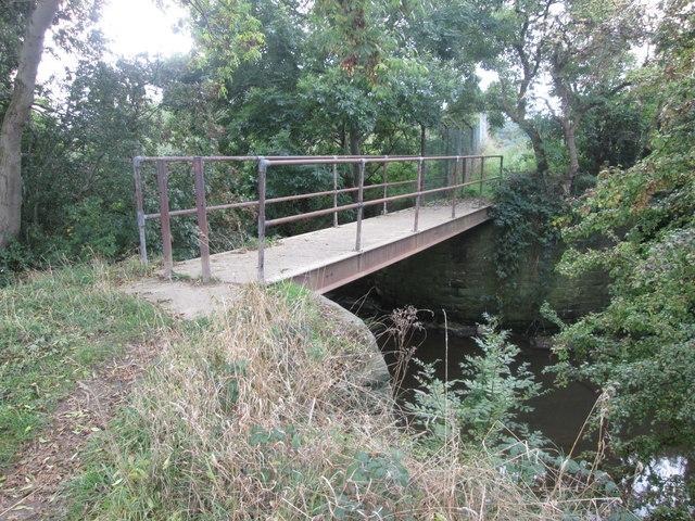 Footbridge over the River Dearne