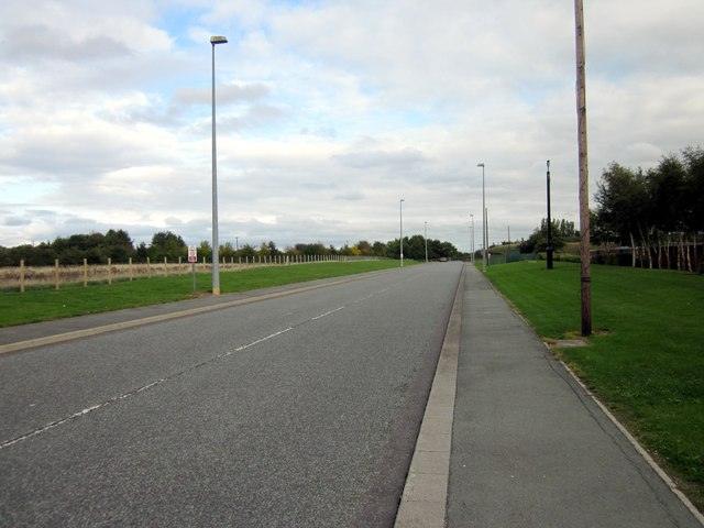 Service Road, Broughton Shopping Park